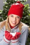 dziewczyny knitwear pracowniany nastoletni target637_0_ zdjęcie stock