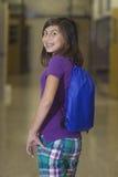 dziewczyny korytarza szkoła Fotografia Royalty Free