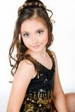 dziewczyny kostiumowy śliczny princess fotografia stock