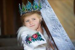 Dziewczyny królowa fotografia royalty free