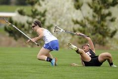 Dziewczyny Lacrosse Zdjęcie Royalty Free