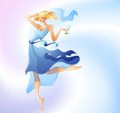dziewczyny lato Royalty Ilustracja