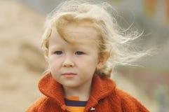 dziewczyny lato wiatr zdjęcia royalty free