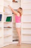 dziewczyny śliczna praca domowa Zdjęcia Royalty Free