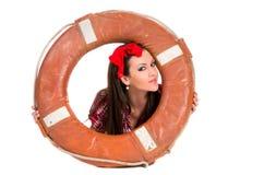 dziewczyny lifebuoy szpilki styl lifebuoy Fotografia Royalty Free