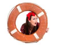 dziewczyny lifebuoy szpilki styl lifebuoy Obrazy Stock
