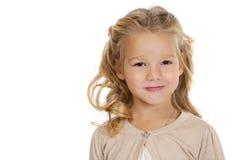 dziewczyny liitle portret dosyć Obrazy Stock