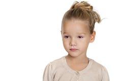 dziewczyny liitle portret dosyć Obraz Royalty Free