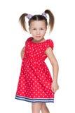 dziewczyny mały portreta ja target852_0_ fotografia stock