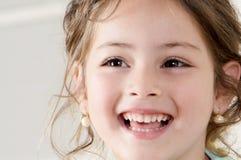 dziewczyny mały szczęśliwy Obrazy Royalty Free
