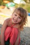 dziewczyny mały szczęśliwy Obrazy Stock