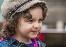 dziewczyny mały szczęśliwy Fotografia Stock