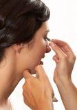 dziewczyny makeup obraz royalty free