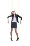 dziewczyny marionetka Zdjęcie Royalty Free