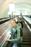 dziewczyny metro zdjęcia royalty free