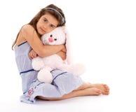dziewczyny miękkiej części zabawka Zdjęcia Stock