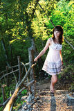 dziewczyny mistyczki schodki Fotografia Stock