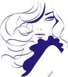 Dziewczyny moda ilustracja wektor