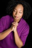 dziewczyny modlenie Obrazy Royalty Free