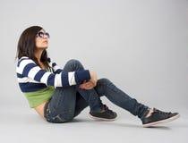 dziewczyny modny nastoletni Zdjęcia Stock