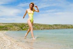 dziewczyny morze Fotografia Stock