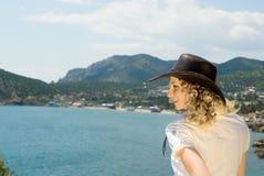 dziewczyny morze Fotografia Royalty Free