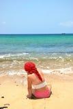 dziewczyny morze Obraz Stock