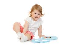 dziewczyny mozaiki mała zabawka Zdjęcie Stock