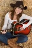 dziewczyny muzyki Zdjęcie Stock