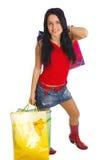 dziewczyny na zakupy Zdjęcia Stock