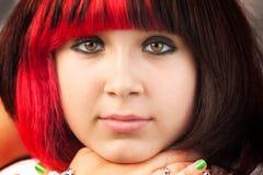 dziewczyny nastoletni poważny zdjęcia royalty free