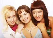 dziewczyny nastoletni szczęśliwy Fotografia Stock