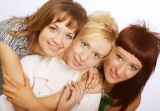dziewczyny nastoletni szczęśliwy Obraz Stock