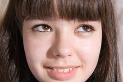 dziewczyny nastoletni uroczy obraz stock