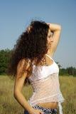 dziewczyny natura Obraz Royalty Free