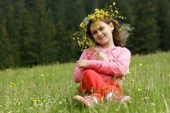 dziewczyny natura Zdjęcie Stock