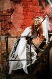 dziewczyny nieformalny poz styl Zdjęcia Royalty Free