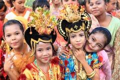 Dziewczyny od Maluku Zdjęcie Stock