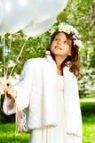 Dziewczyny panna młoda fotografia stock