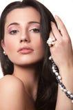 dziewczyny perła zdjęcie royalty free