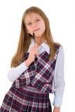dziewczyny pióra główkowanie Fotografia Stock