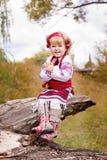 dziewczyny piękny kostiumowy ukrainian obraz royalty free