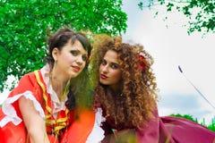 dziewczyny piękny gypsy dwa Zdjęcie Stock