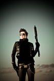 dziewczyny pistoletu target2199_0_ Zdjęcia Stock