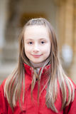 dziewczyny plenerowy portreta ja target1874_0_ zdjęcie stock