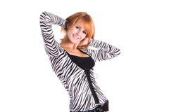 dziewczyny portreta ja target1233_0_ Zdjęcie Stock