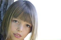 dziewczyny portreta ja target51_0_ Fotografia Royalty Free