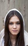 dziewczyny portreta nastoletni miastowy zdjęcie royalty free