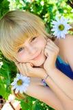 dziewczyny portreta potomstwa Zdjęcia Royalty Free