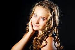 dziewczyny portreta potomstwa Obrazy Royalty Free